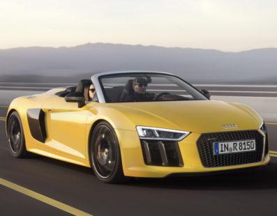 Audi:  R8 Spyder