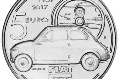 Fiat 500: Και συλλεκτικό νόμισμα