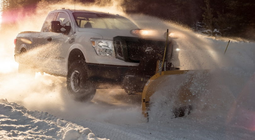 Nissan Titan XD Snow Plow Prep