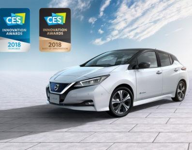 Διεθνές βραβείο για το νέο Nissan LEAF