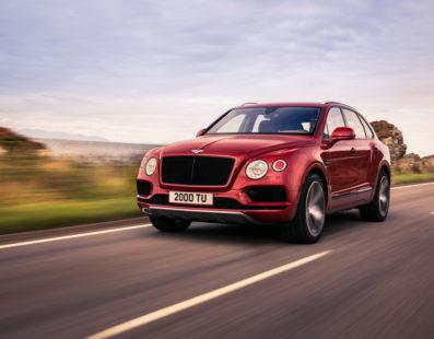 Νέο Bentley Bentayga V8