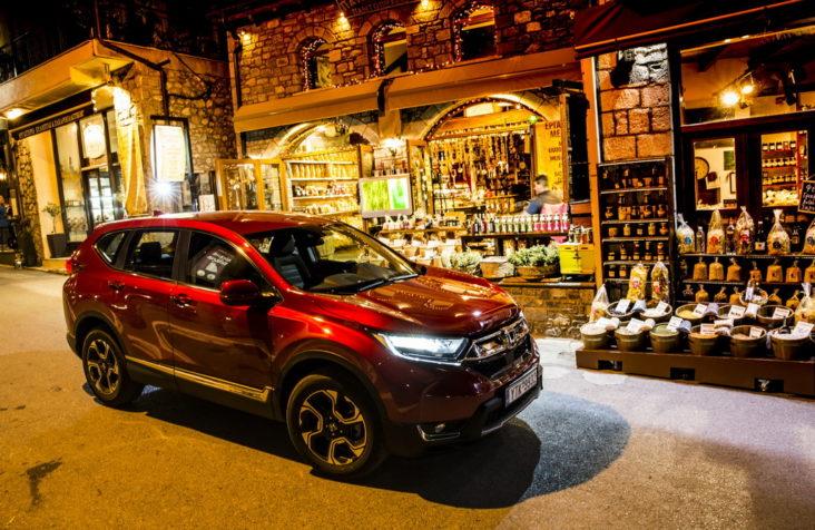Νέο Honda CR-V 5ης γενιάς