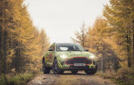 Aston Martin DBX, δοκιμές για το πρώτο SUV της εταιρείας
