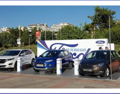 Ford Edge, παρουσιάζεται στο ελληνικό κοινό.