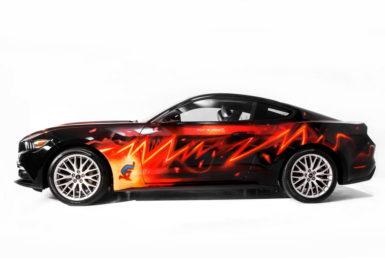 Η Mustang σε κόμικ