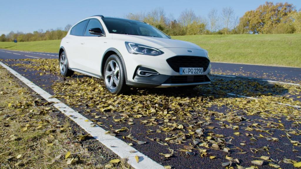 Κίνδυνος από τα πεσμένα φύλλα των δέντρων, Ford Safety leaves 1