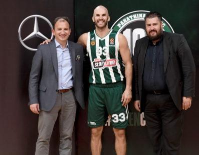 Mercedes και ΚΑΕ Παναθηναϊκός ΟΠΑΠ συνεχίζουν μαζί