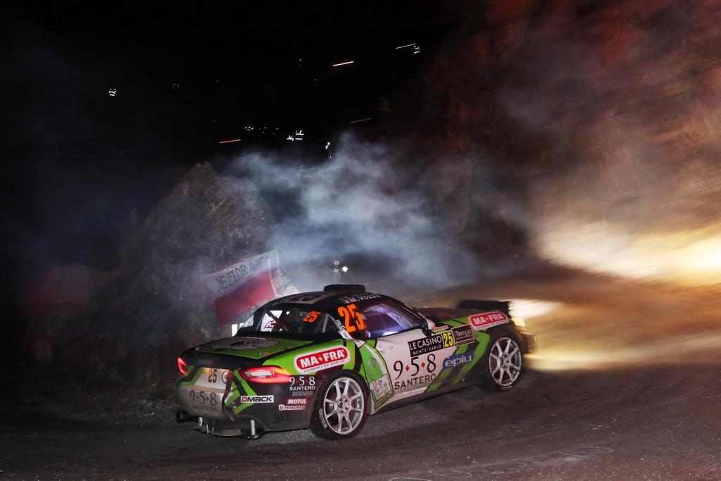 Το Abarth 124 Rally στο ράλι Μόντε Κάρλο (1)