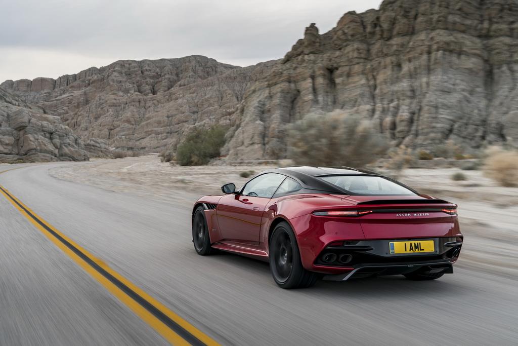 Aston Martin DBS Superleggera action 2
