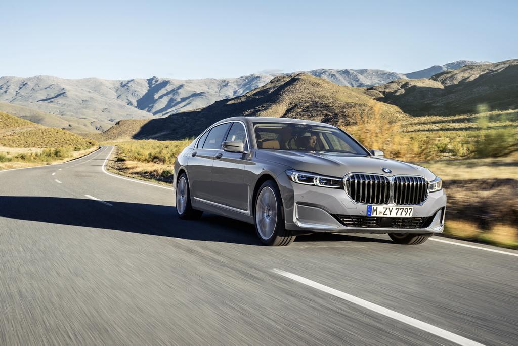 Νέα BMW Σειρά 7 front