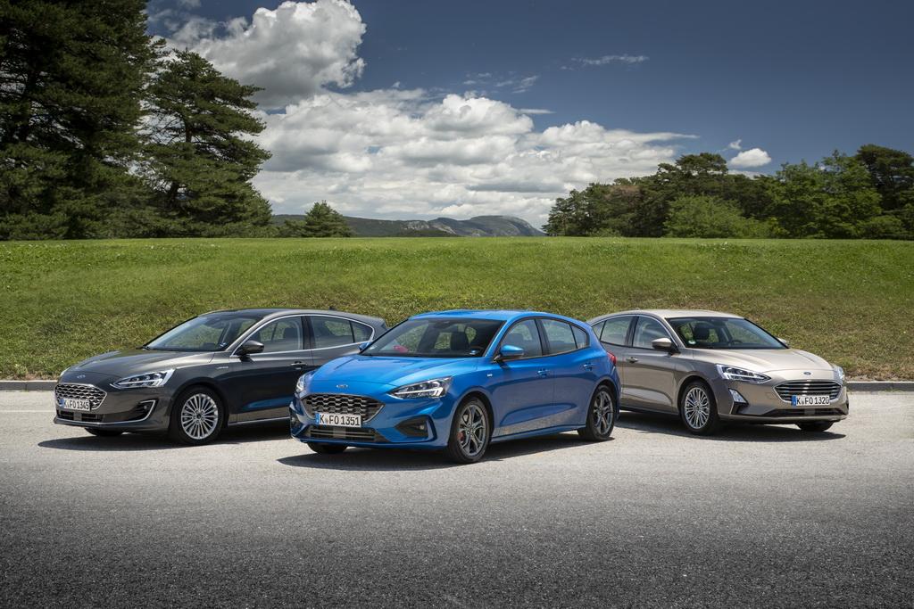 Νέο Ford Focus από 17.894€