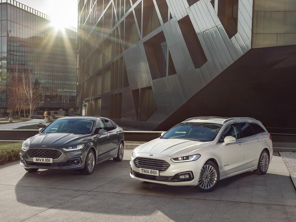 Νέα Ford Mondeo και Ford Mondeo Hybrid Wagon