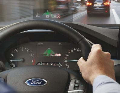 Head-up display στο Ford Focus