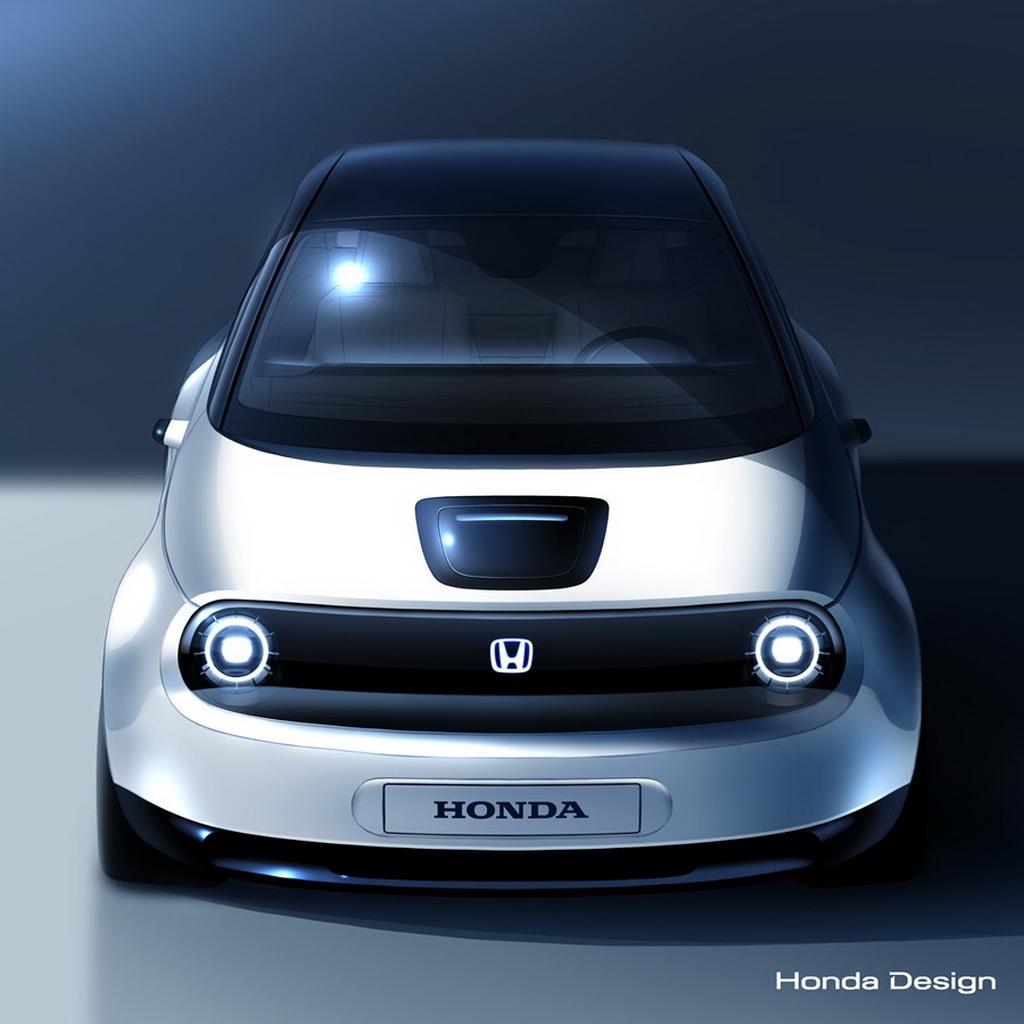 Honda e-Vehicle prototype
