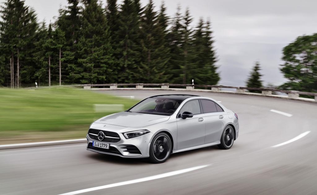Mercedes A-Class Sedan 1