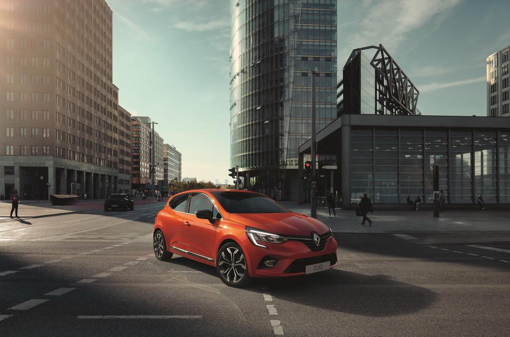 Το νέο Renault Clio εξωτερικά, front