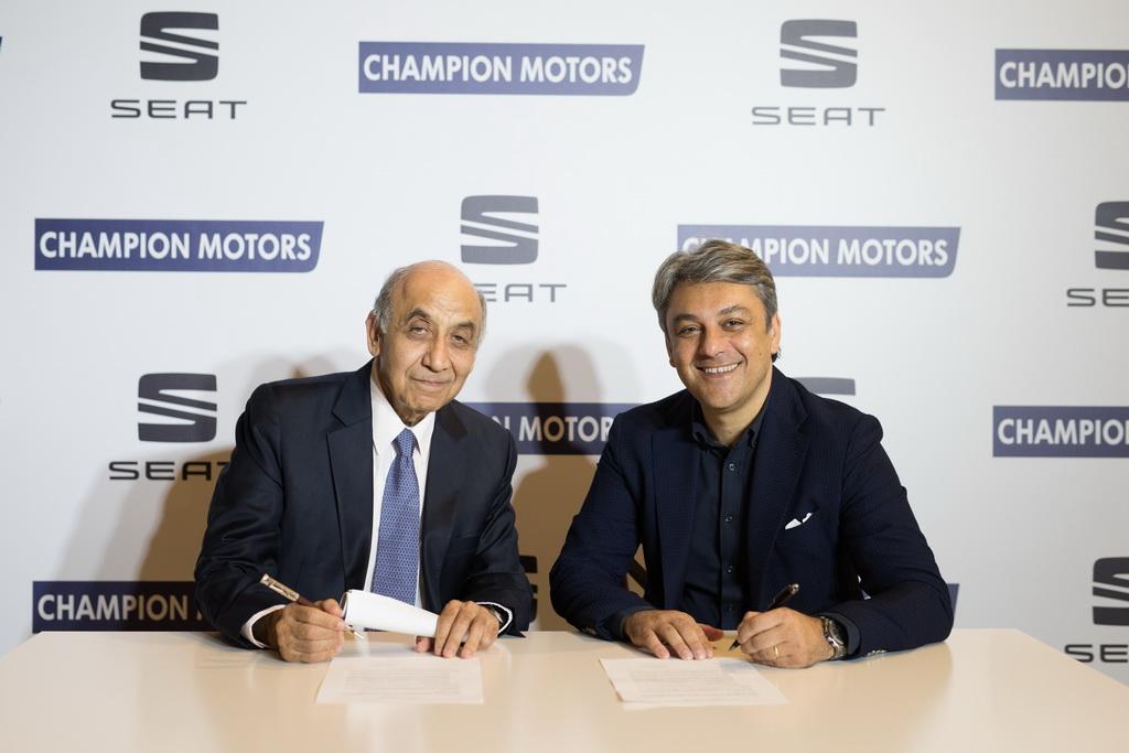 Οκτώ προοπτικές συνεργασίας στο Ισραήλ για τη Seat, SEAT and Champion Motors