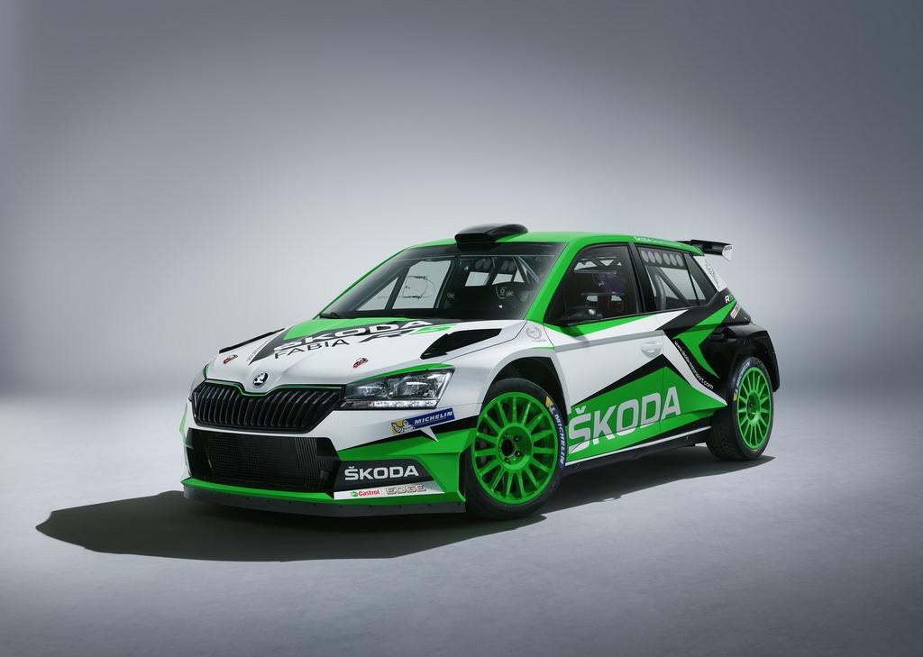 Skoda Fabia R5 WRC front