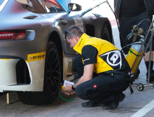 Επιτυχημένες οι δοκιμές ελαστικών της Dunlop, Dunlop VLN Endurance testing 1