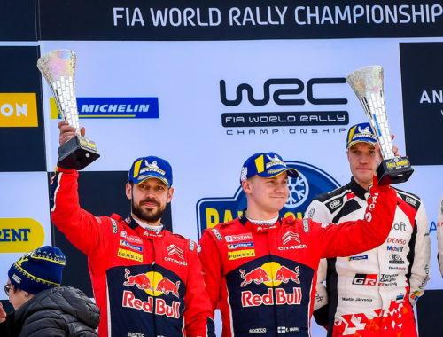 Δεύτερο σερί βάθρο για τη Citroen στο WRC