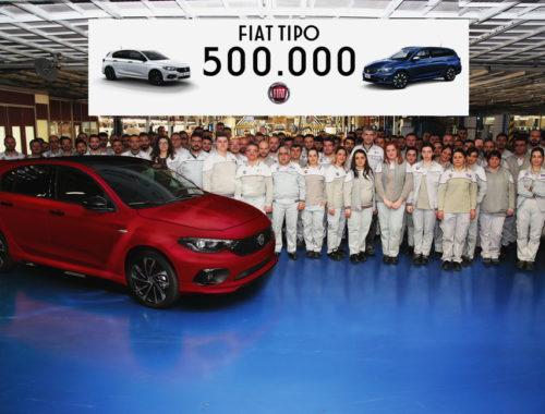 Το Fiat Tipo ξεπέρασε τις 500.000 μονάδες