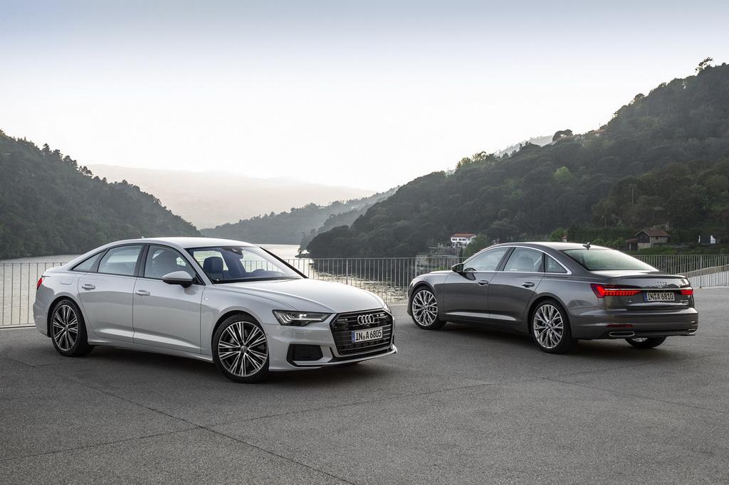 Με υβριδική τεχνολογία διατίθενται τα μοντέλα της Audi, A6