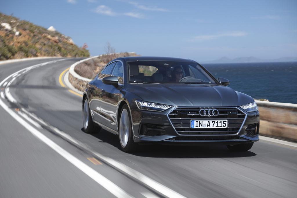 Με υβριδική τεχνολογία διατίθενται τα μοντέλα της Audi, A7