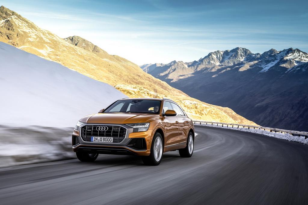 Με υβριδική τεχνολογία διατίθενται τα μοντέλα της Audi, Q8