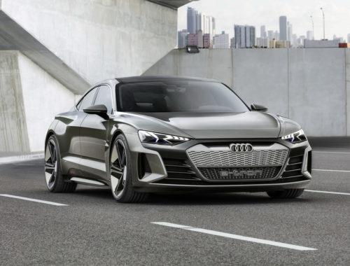 Audi e-tron GT concept front