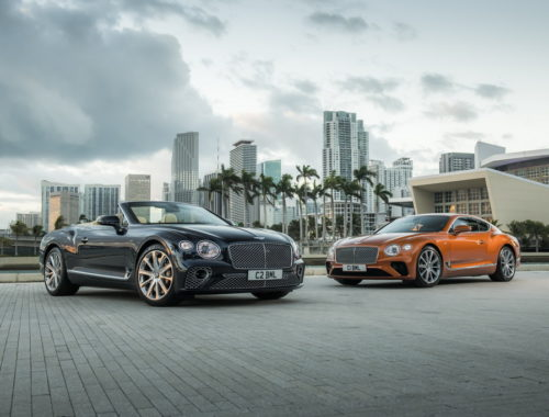 Bentley Continental GT V8 και GT V8 Convertible
