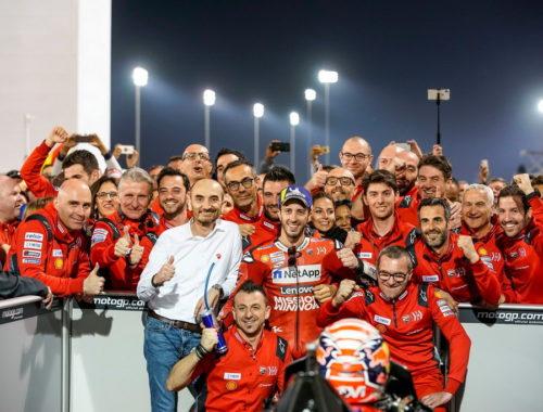 Πρωτιά για Ducati και Ντοβιτσιόζο στο Κατάρ