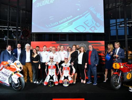 Αποκαλυπτήρια για τη MV Agusta Idea Lavoro Forward Racing Team