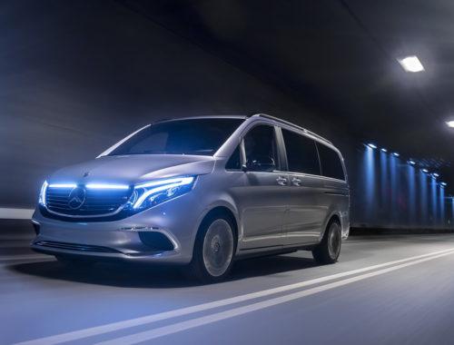 Mercedes-Benz Concept EQV front