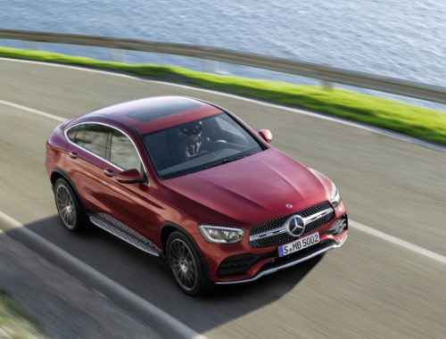 Νέα Mercedes-Benz GLC Coupe front