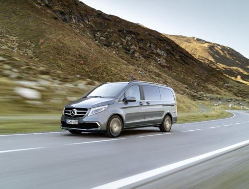 Ανανέωση για τη Mercedes V-Class front