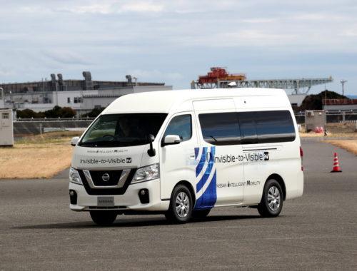 Nissan και DOCOMO δοκιμάζουν την τεχνολογία I2V (1)