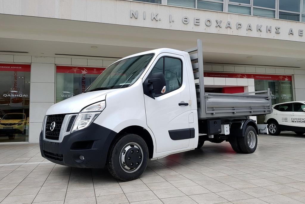 Nissan NV400 με ανατρεπόμενη καρότσα φόρτωσης (3)
