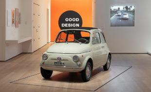 Το Fiat 500 στο Μουσείο Μοντέρνας Τέχνης της Νέας Υόρκης (1)