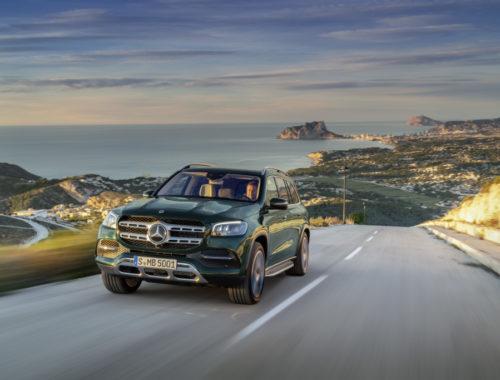 Νέα Mercedes GLS front