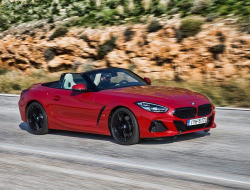 Νέα BMW Z4 front