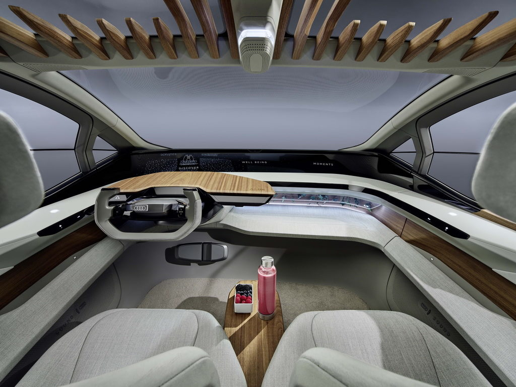 Audi AI:ME interior