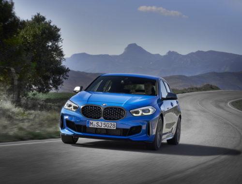 Νέα BMW Σειρά 1 front
