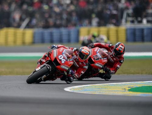 Στο βάθρο η Ducati με Ντοβιτσιόζο και Πετρούτσι