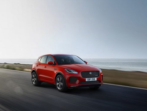 Jaguar E-Pace Chequered Flag front