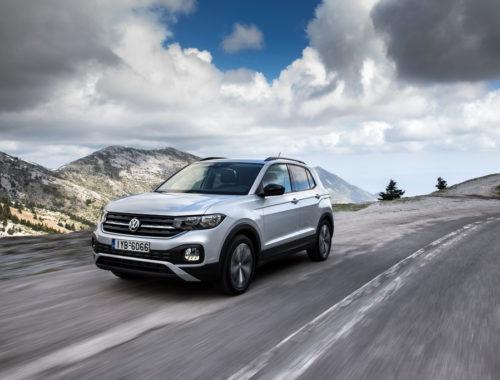 VW T-Cross front
