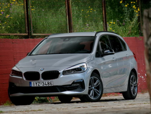 BMW 218i Active Tourer Facelift front