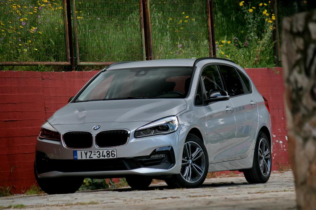 BMW 218i Active Tourer Facelift front