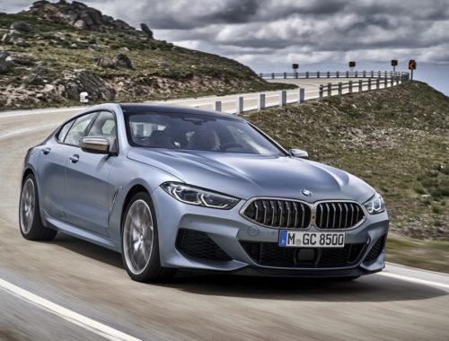 Νέα BMW Σειρά 8 Gran Coupe front