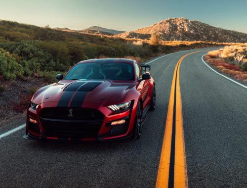 Νέα Ford Mustang Shelby GT500 front