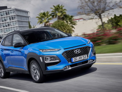 Νέο Hyundai Kona Hybrid front